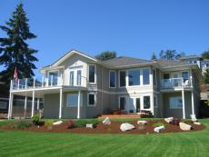2nd shot of back view BED & BREAKFAST ON THE GREEN.JPG